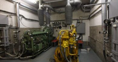 Impianto elettrico del locale Gruppo Elettrogeno